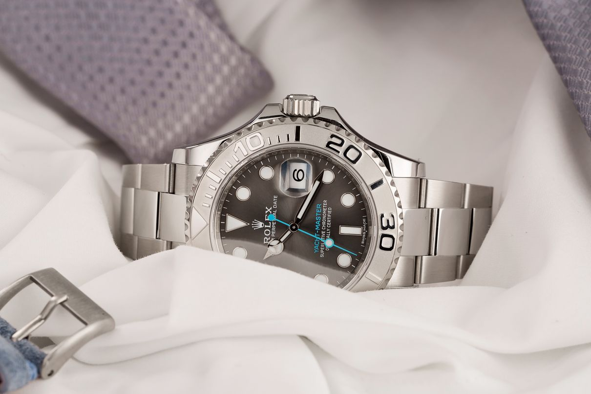 Rolex watches for women Platinum Yacht-Master Rolesium