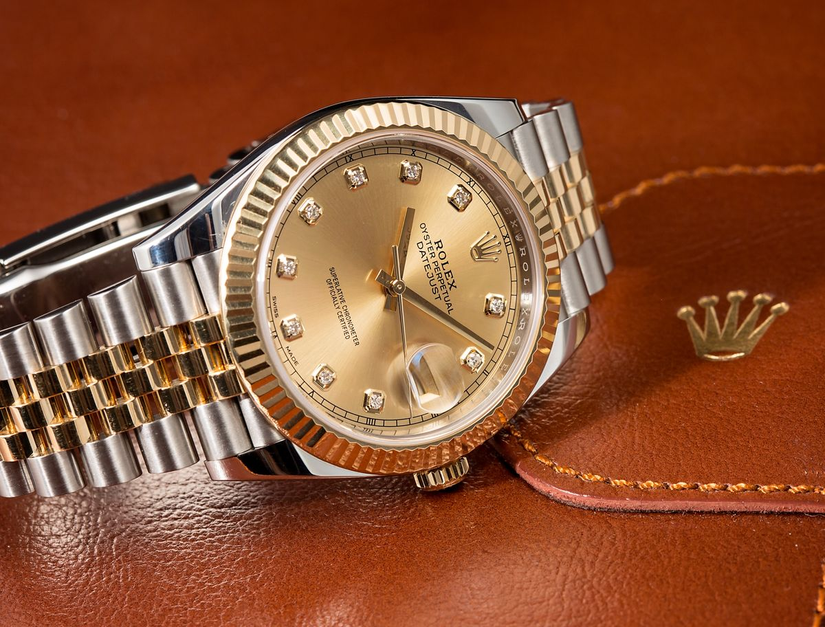 Rolex Datejust 41 vs Datejust II Comparison