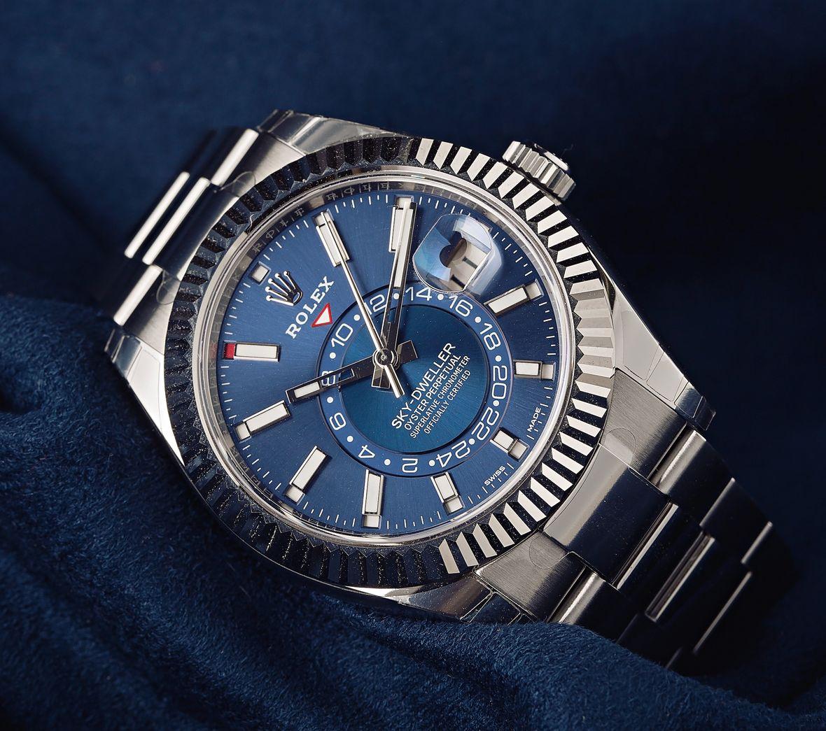 Rolex Blue Dial Sky-Dweller 326934