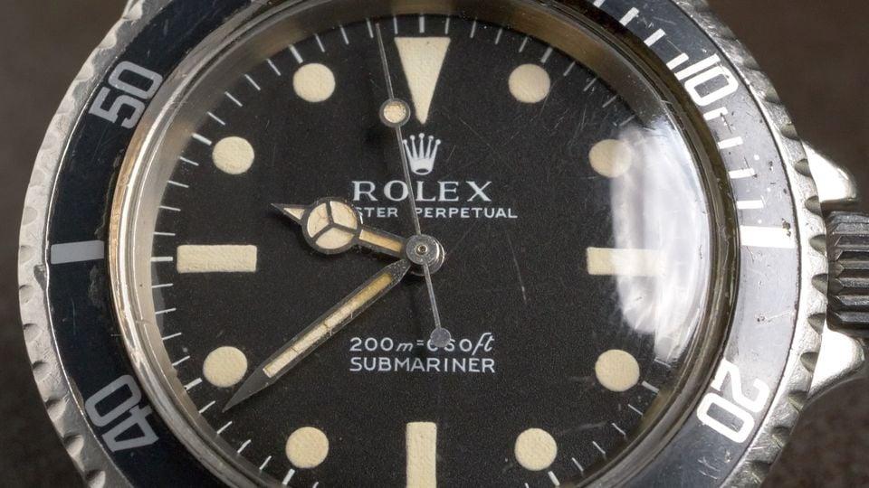Rolex Story Telling Series US Navy Diver Vintage Submariner
