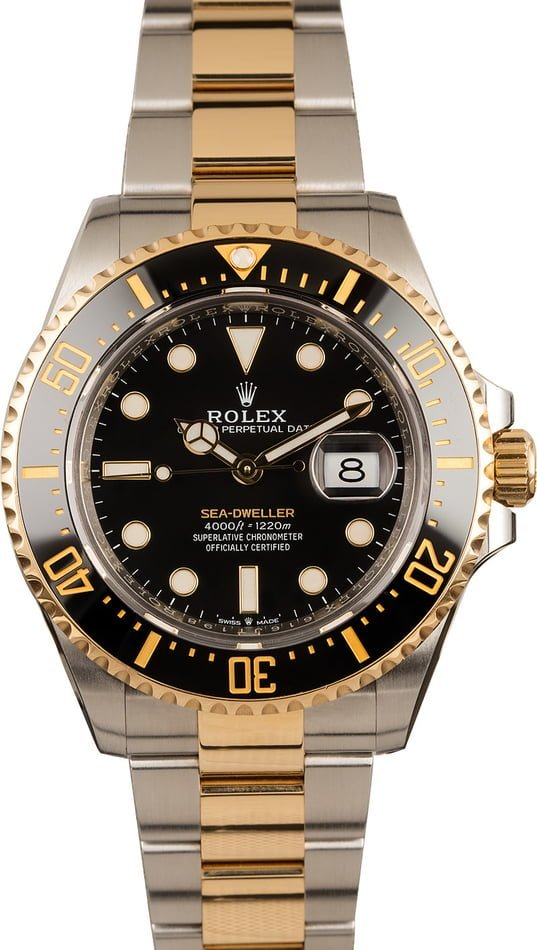 Top 3 Rolex Watches 2019 Two-Tone Sea-Dweller 126603