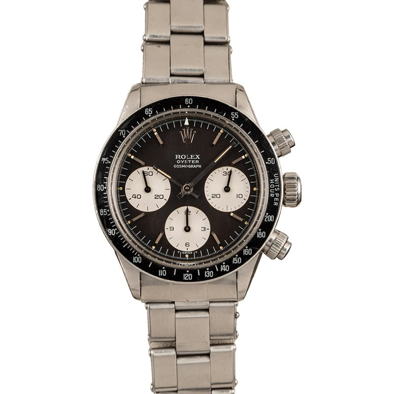 Bob's Watches Rolex Daytona Duo Auction Stainless steel
