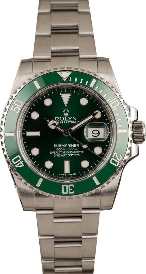Rolex Hulk Submariner Green 116610 LV