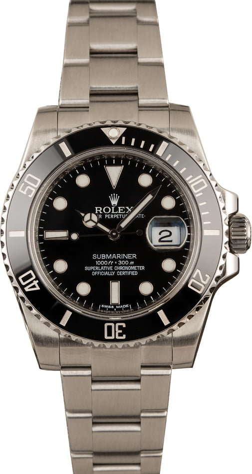 Rolex Watches for Men Holiday Guide Submariner Black 116610