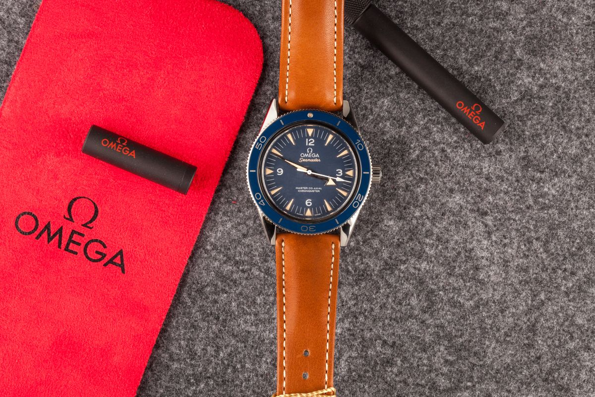The Best Omega Seamaster Watches Titanium