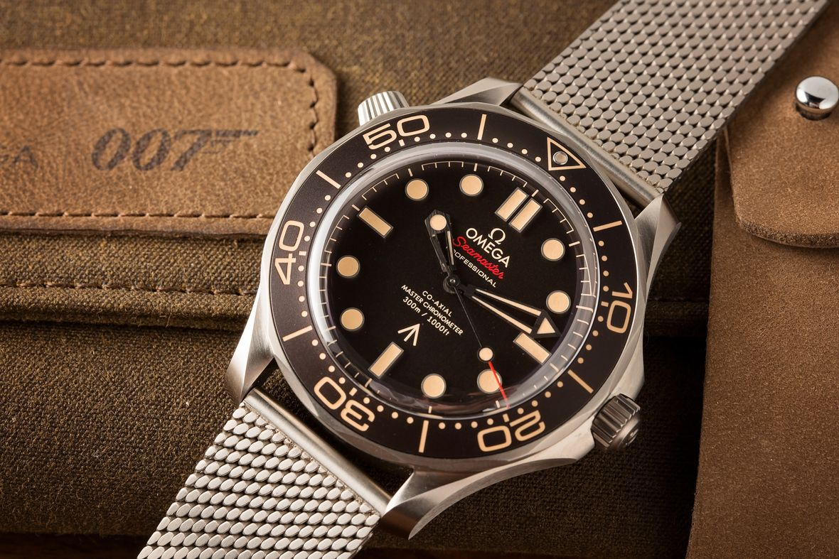 James Bond Omega Seamaster Diver 300M No Time to Die 007Edition