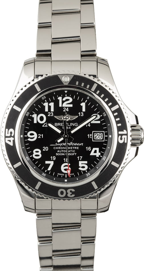 Best Entry-Level Mens Luxury Watches Breitling Superocean 42mm
