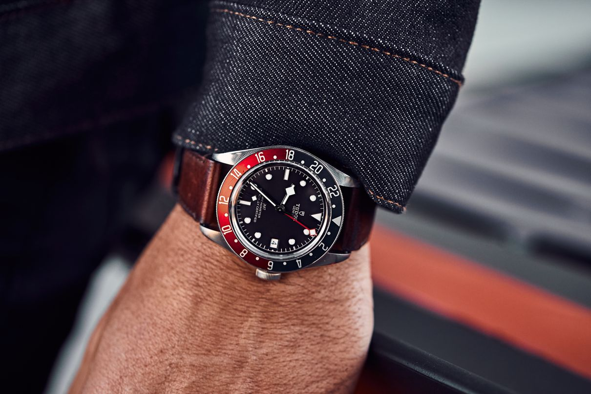 Rolex vs. Tudor: GMT Watch Comparison Black Bay Pepsi 79830RB