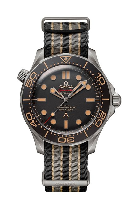 Omega Seamaster Diver 300M James Bond 007 Edition Nato Strap
