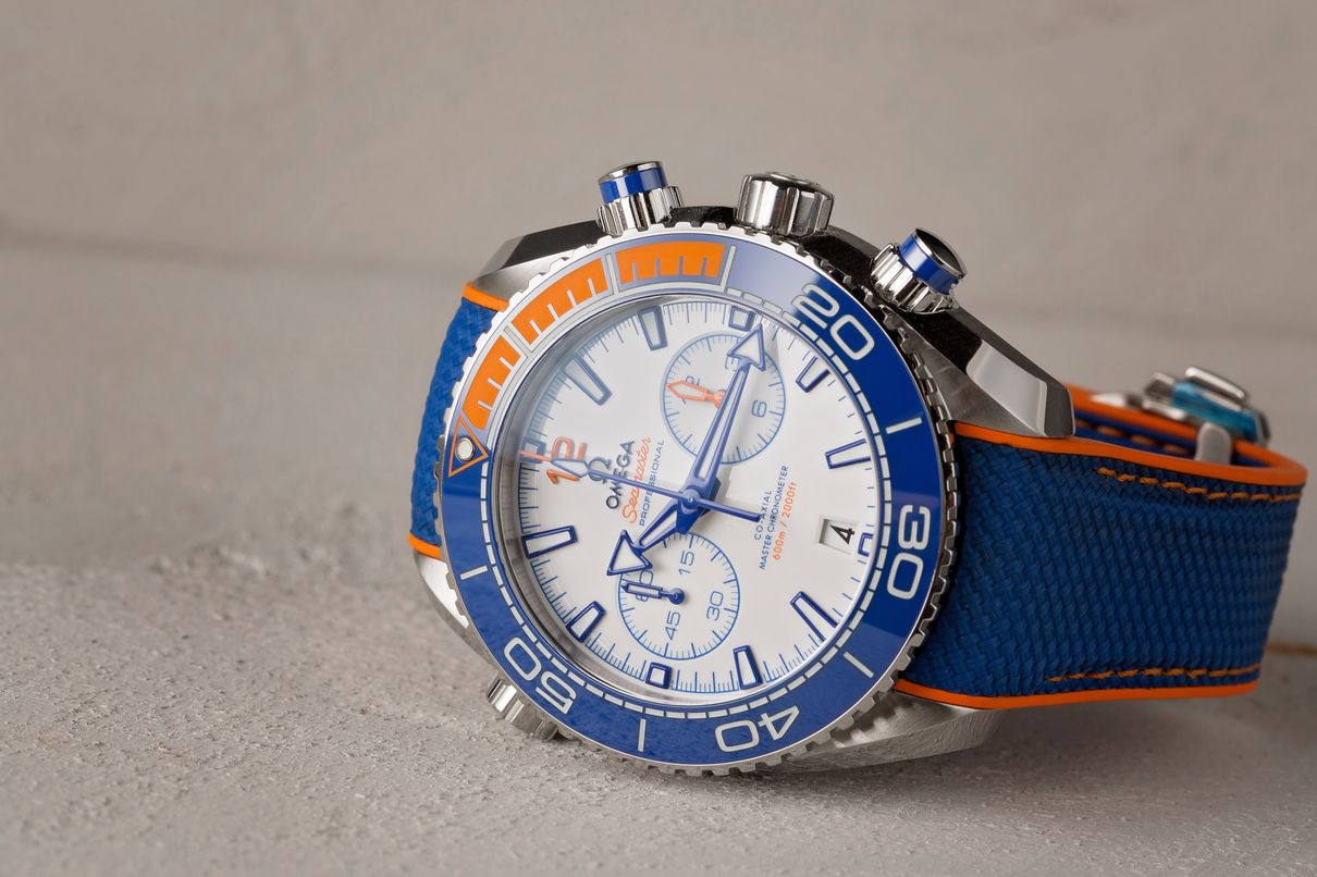 Omega Seamaster Planet Ocean Chronograph - Michael Phelps