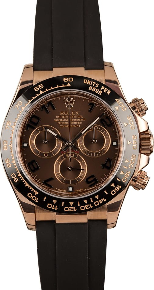 Rolex Cosmograph Daytona 116515LN Everose Oysterflex