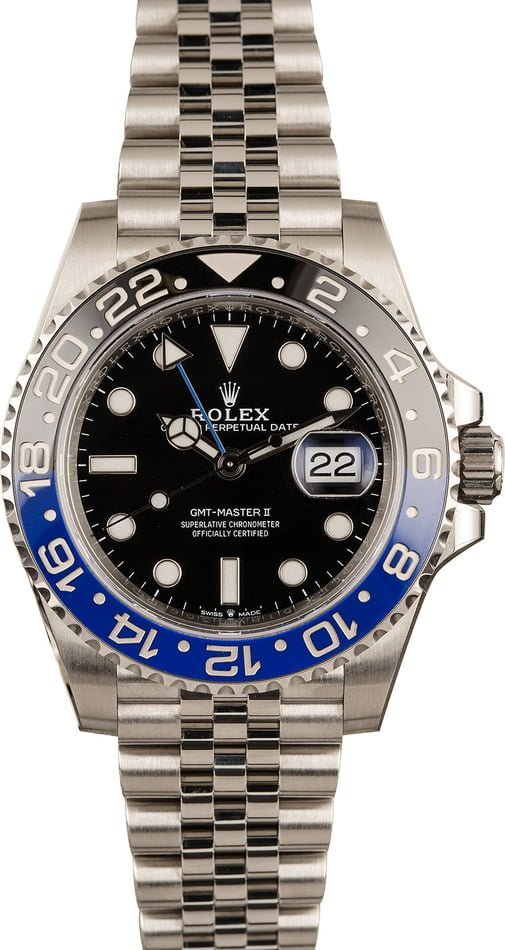 Top 3 Best Rolex Watches Batman GMT-Master II Reference 126710 BLNR Jubilee