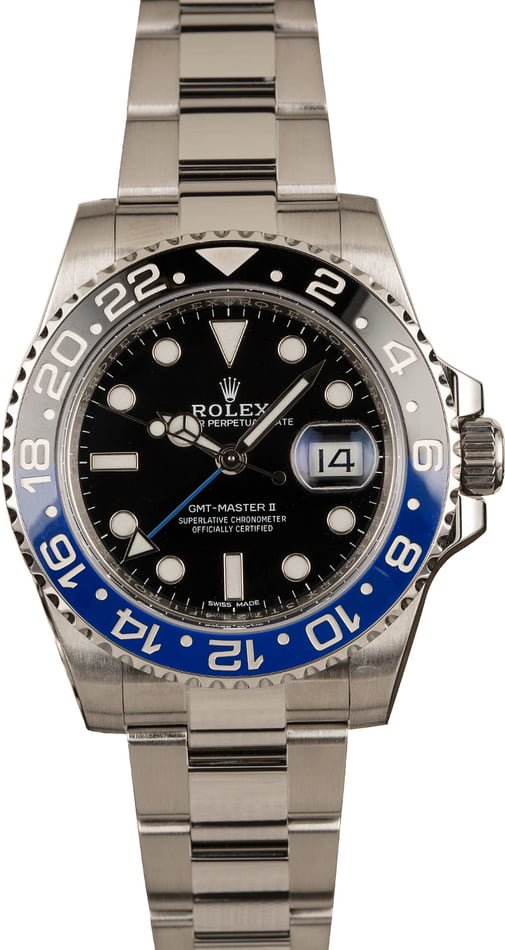 Rolex Batman GMT-Master II 126710BLNR