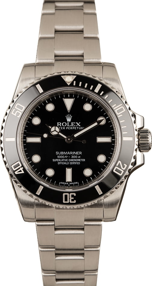 Rolex Submariner 114060 129557 - Rolex Watches That You Should Know