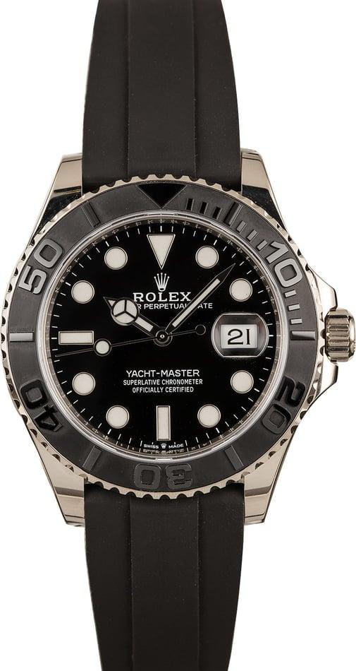 Rolex Yacht-Master 42 226659 White Gold Oysterflex