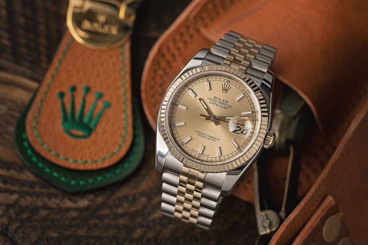 Rolex Watches UK Price Increase Two-Tone Datejust