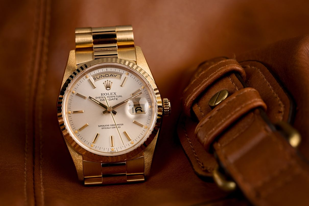 Gold Rolex President Reference 18238 Day-Date Presidential