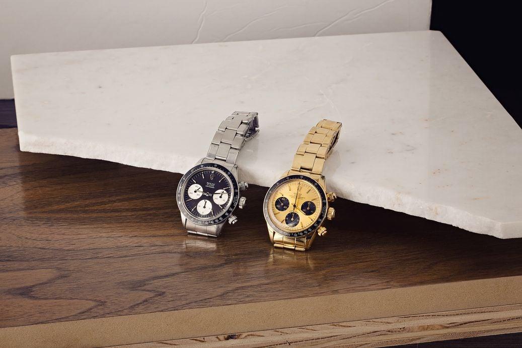 Bob's Watches Rolex Daytona Duo Auction 6263 watches