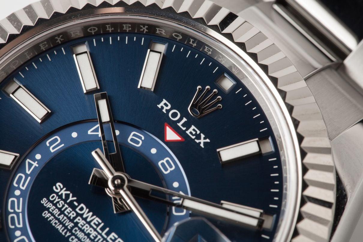 Rolex Sky-Dweller Annual Calendar Complication Stainless Steel
