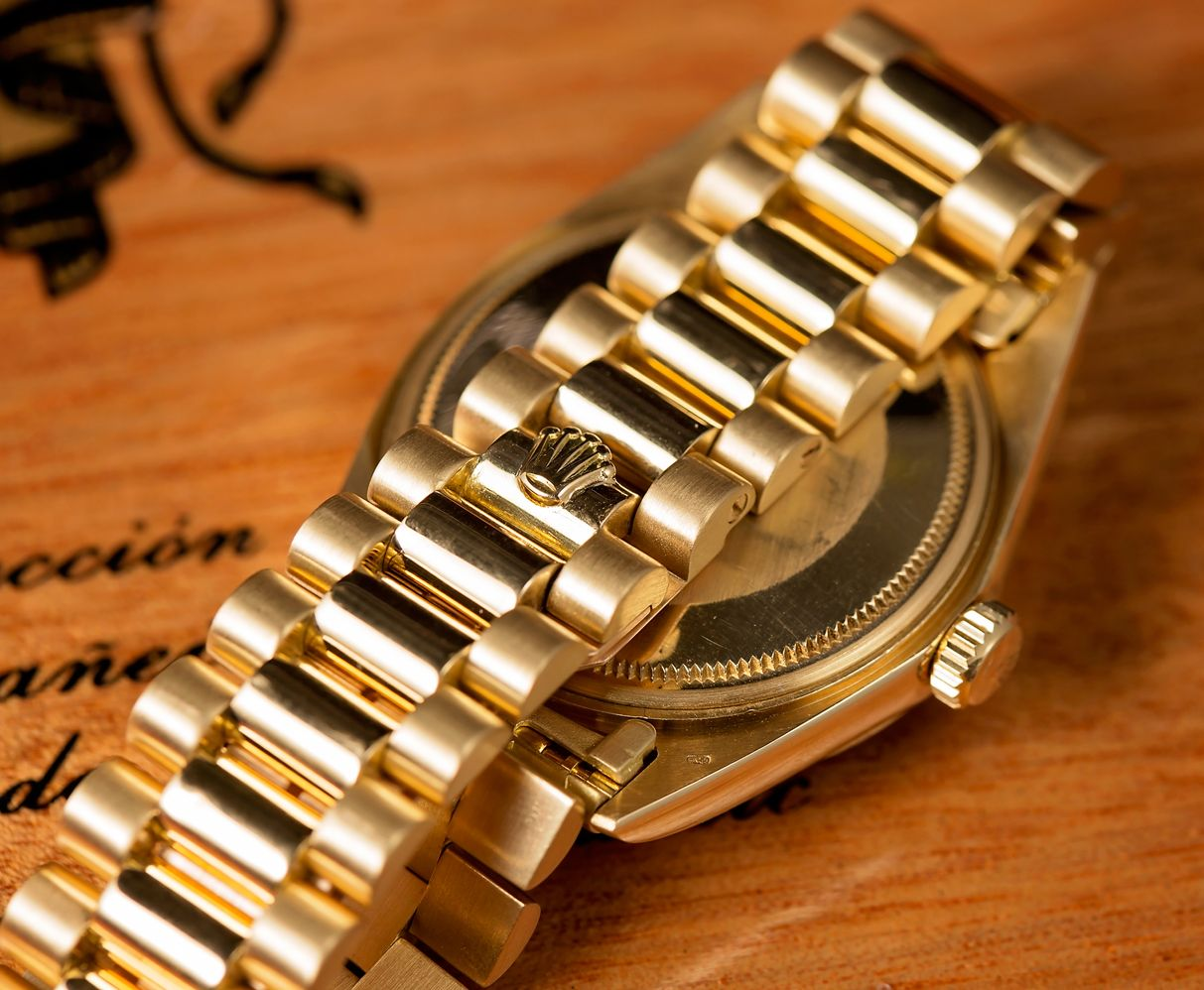 Rolex Presidential Most Famous Gold Watch
