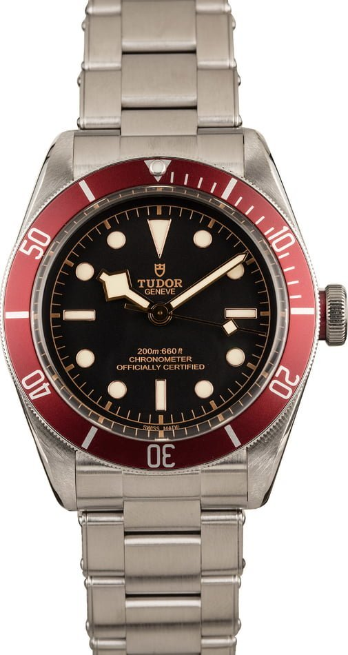 Best Entry-Level Mens Luxury Watches Tudor Black Bay Heritage Dive Watch
