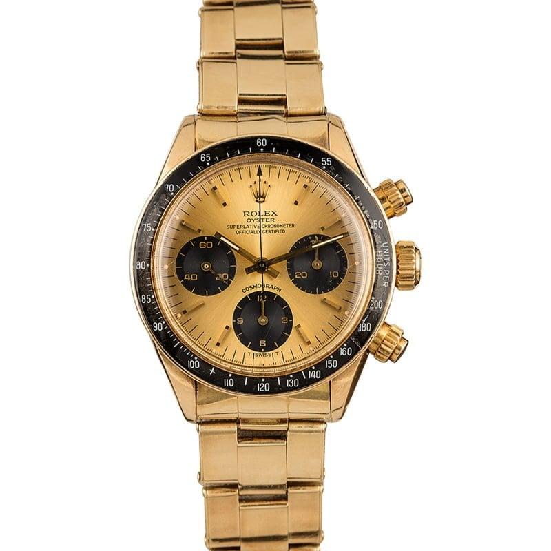 Bob's Watches Rolex Daytona Duo Auction 14k Gold