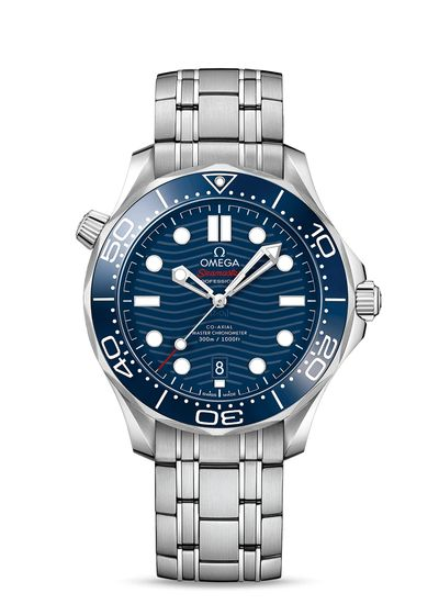 Omega watches Seamaster Diver 300m Co-Axial