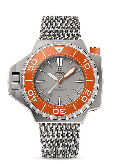 omega watches Seamaster Ploprof 1200m Co-Axial Master Chronometer