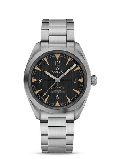 Omega watches Railmaster Co-Axial Master Chronometer