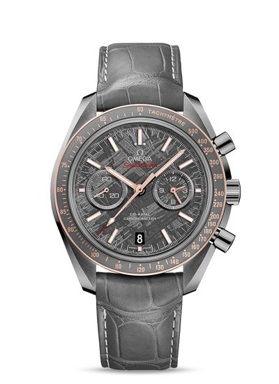 Omega watches Speedmaster Grey Side of the Moon 'Meteorite'