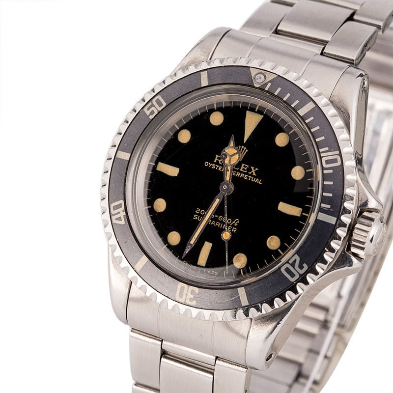 Rolex Submariner reference 5513 Gilt Dial