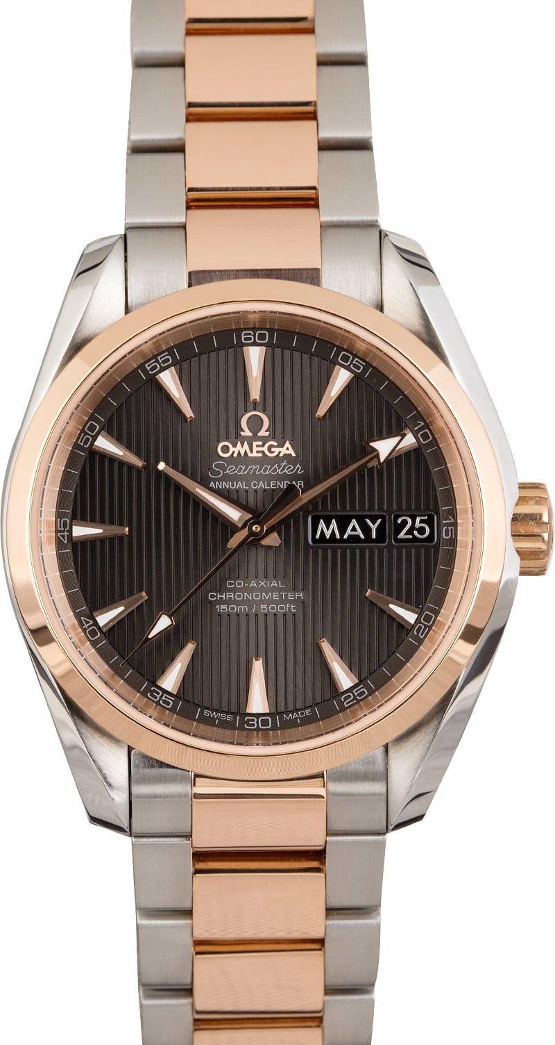 Rolex Datejust ROlesor or Omega Aqua TerraTwo-tone