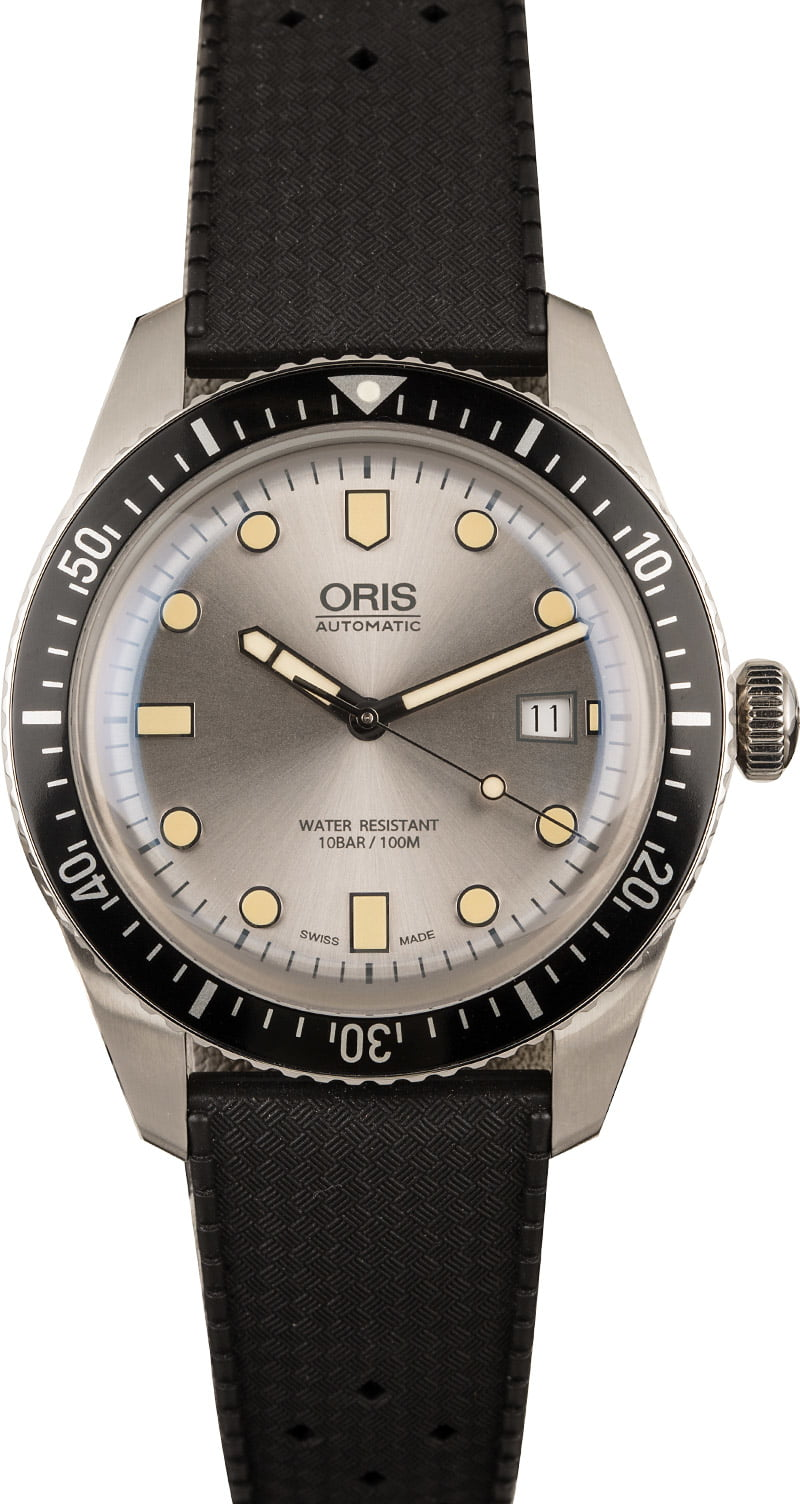 Oris Divers Sixty-Five rubber strap