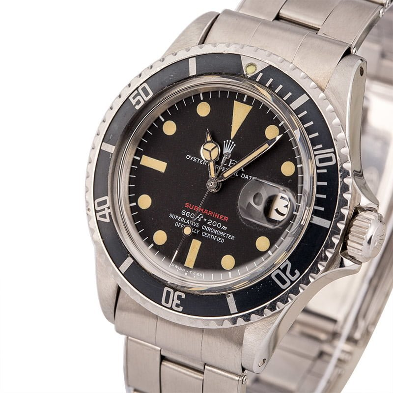 Rolex Submariner reference 1680 Red Sub Matte Dial