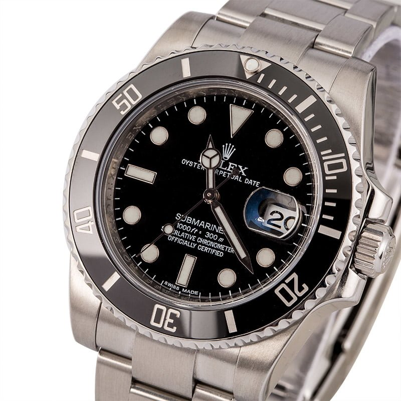 Rolex Submariner reference 116610 Maxi Dial