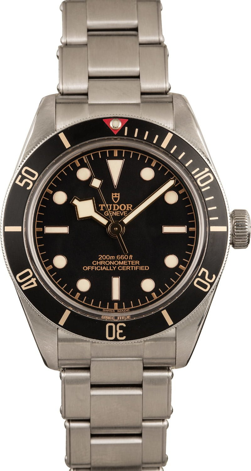 Best Everyday Mens Luxury Watches - Tudor Black Bay Fifty-Eight
