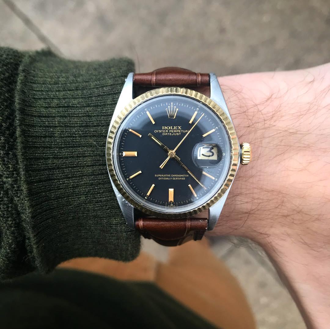Teddy Baldassarre Rolex Collecting Rolex Datejust 1601 Two-Tone