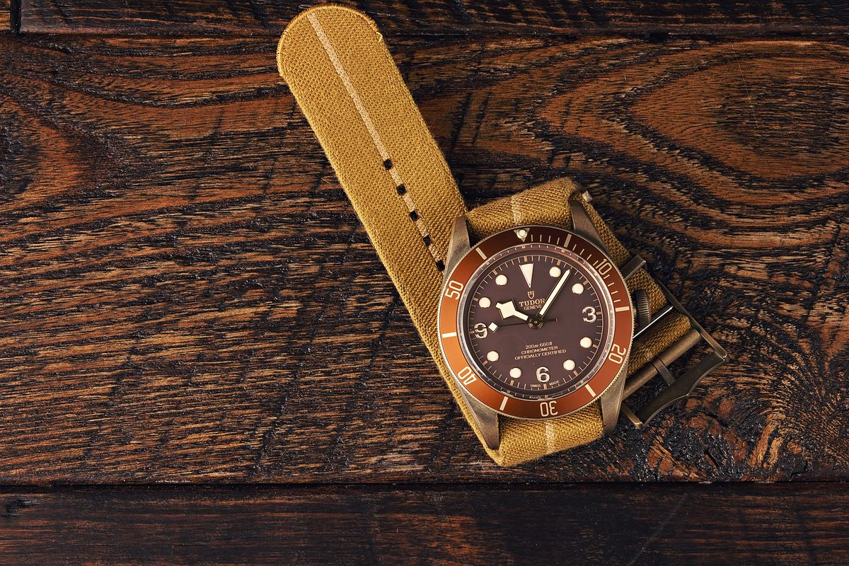 Tudor Watches Black Bay Bronze Review Brown Dial
