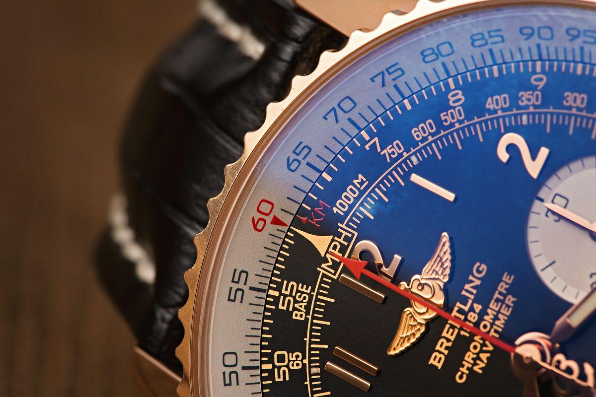Breitling Navitimer Bezel How to Use Slide Rule Tutorial