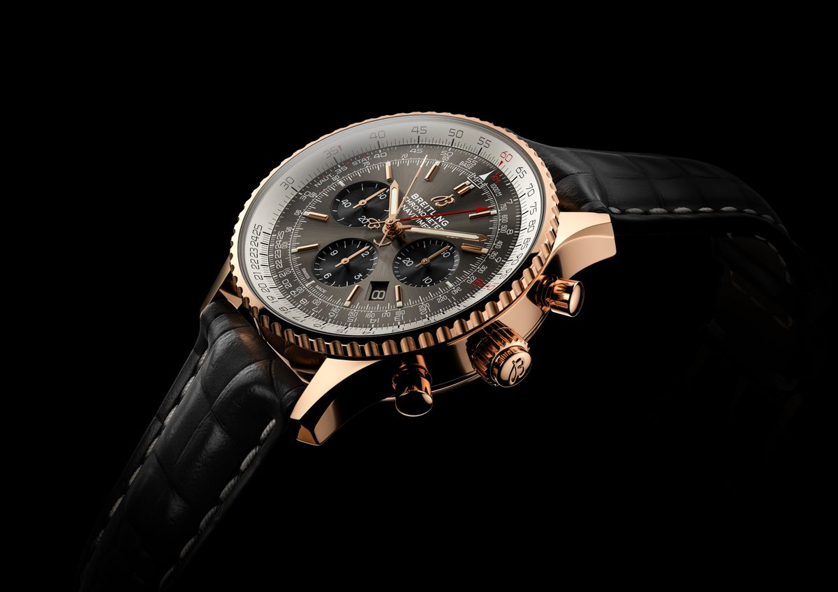 Breitling Watches Navitimer B03 Split-Seconds Chronograph Rattrapante 45