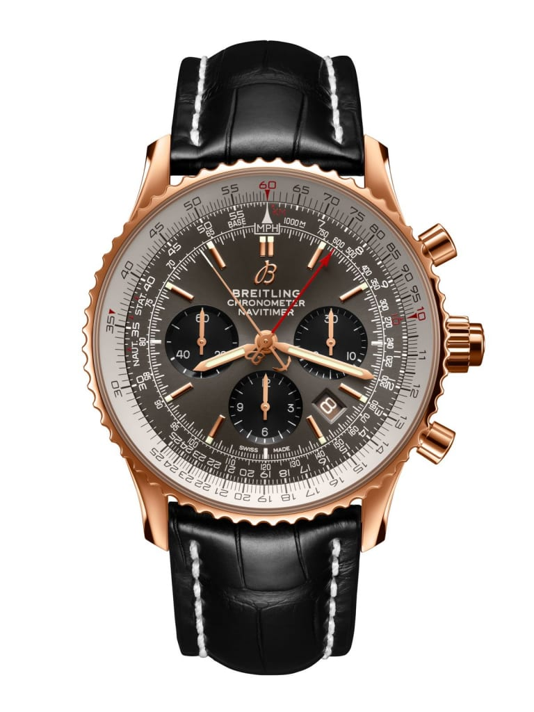 Breitling Watches Split-Seconds Navitimer B03 Chronograph Rattrapante 45