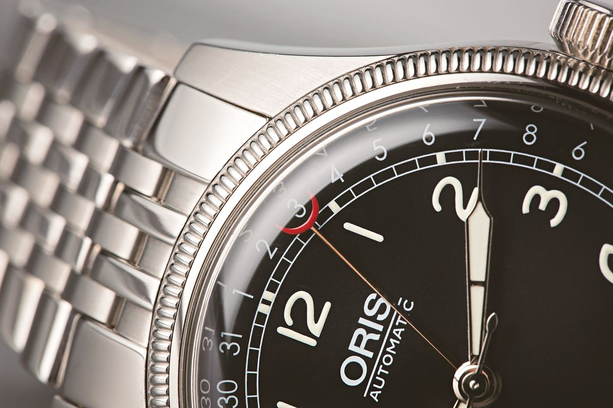 Stainless Steel Oris Big Crown Pointer Date Guide