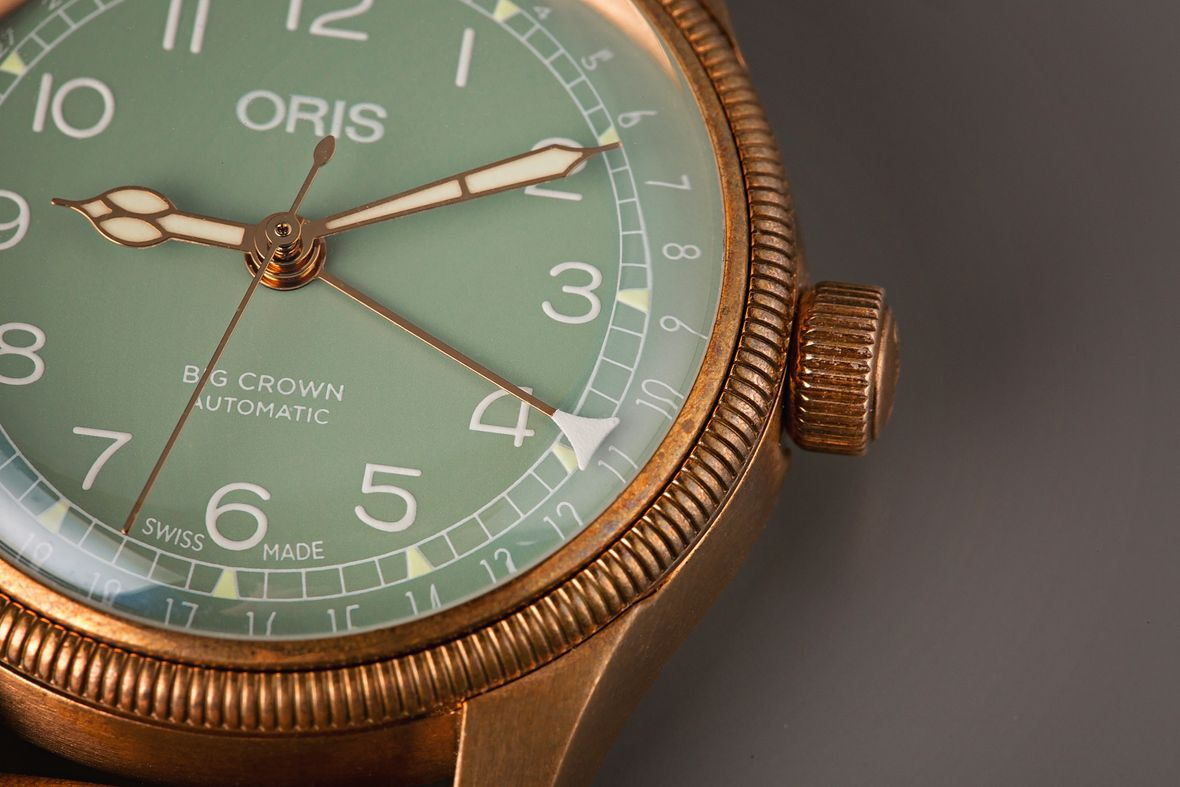 Oris Big Crown Pointer Date Bronze Green Dial Review Guide