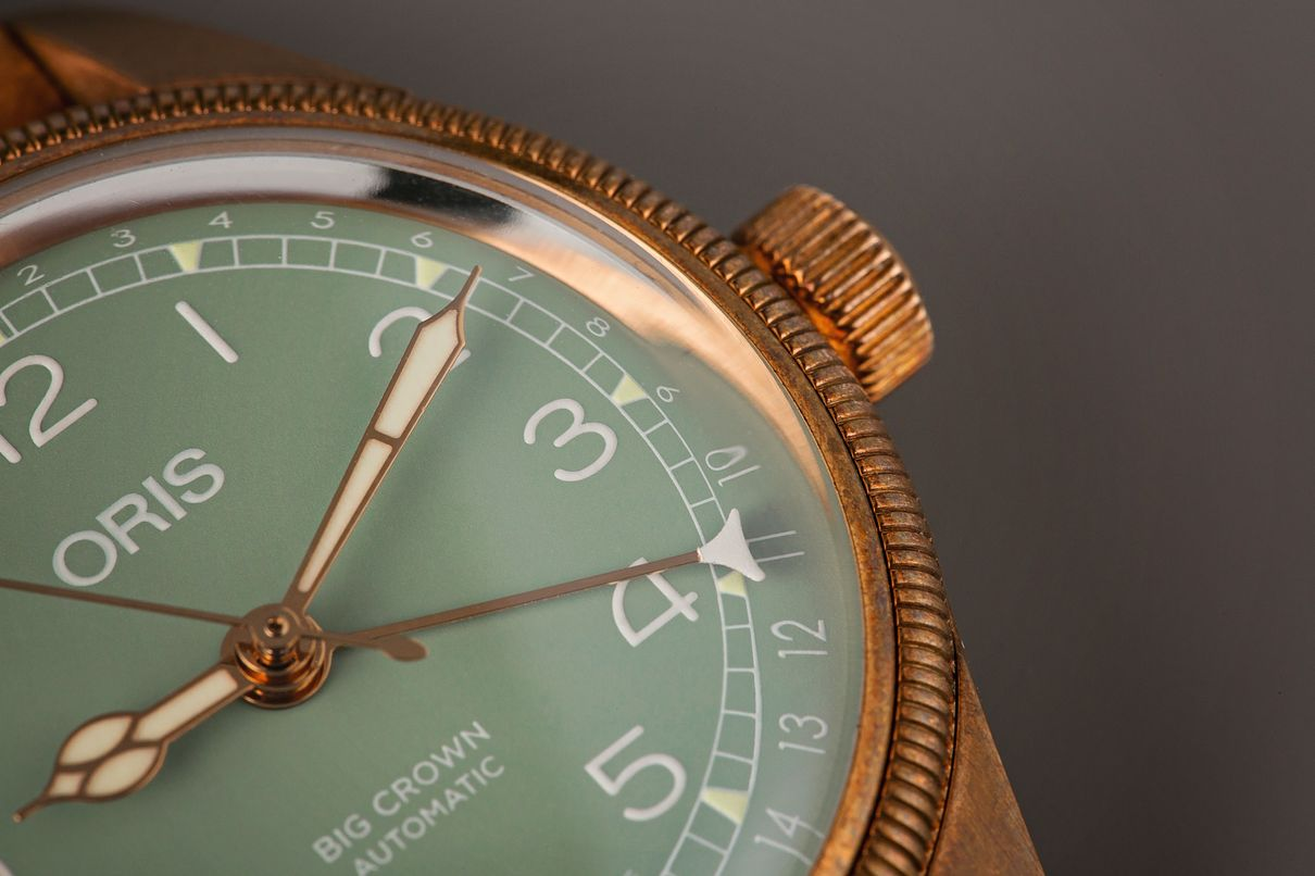 Bronze Oris Big Crown Pointer Date Review 36mm