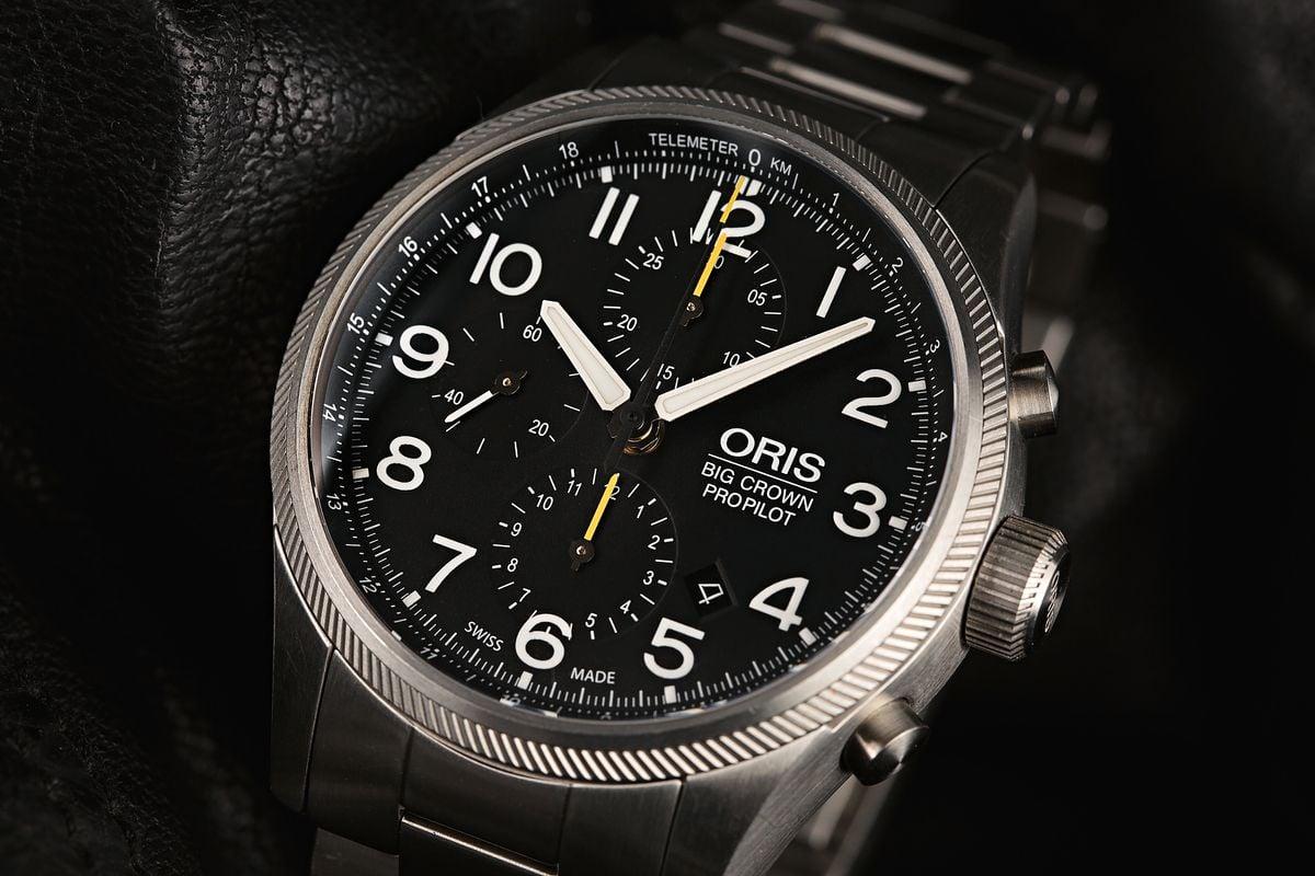 Oris Big Crown ProPilot Chronograph Watch Review