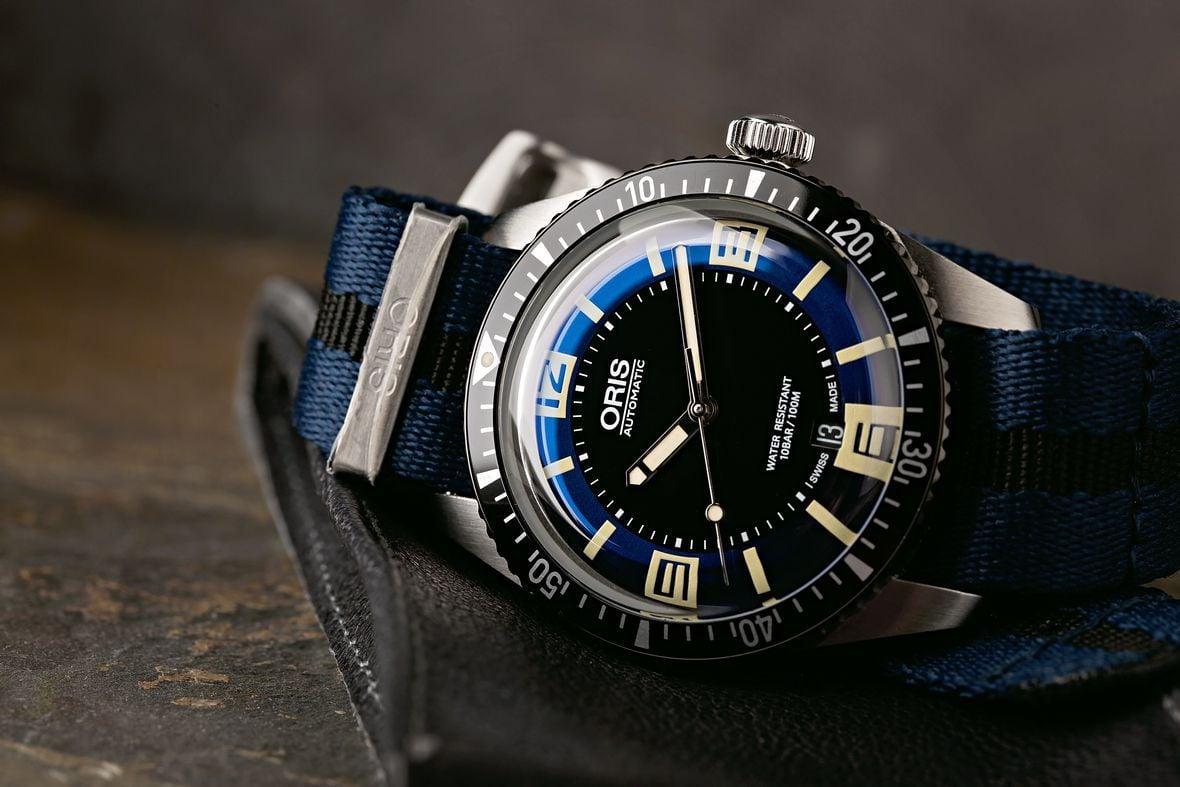 Oris Divers 65 Sixty-Five Retro Dial