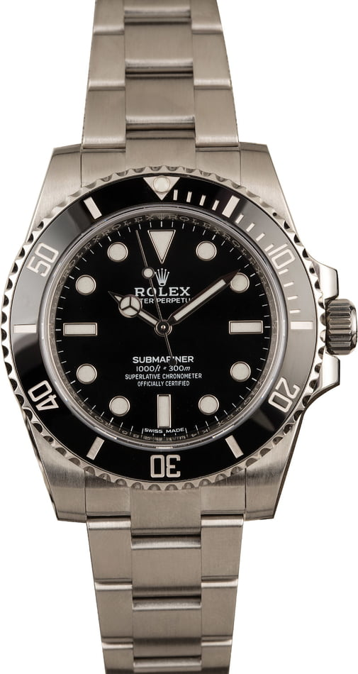 Ultimate Guide Rolex Sport Watches No-Date Submariner 114060 Ceramic dive watch