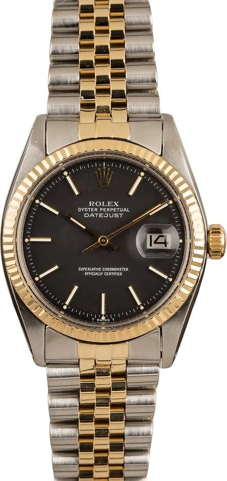 Best Rolex Datejust Watches Under $10K 1601 two-tone