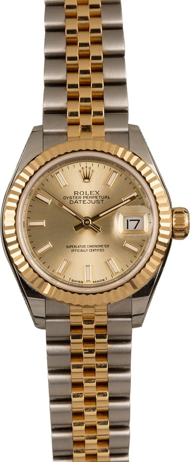 Most Worn Rolex Watches Lady-Datejust 279173 28mm two-tone