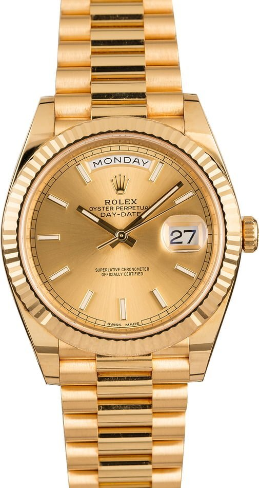 Rolex Watches Day-Date 40 Solid Gold